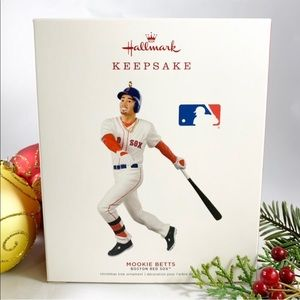 Red Sox Christmas Ornament